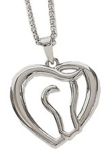 AWST International Necklace - Horse Head/Heart