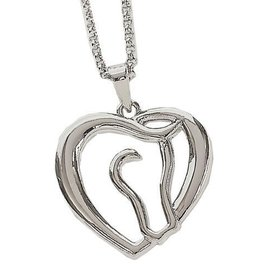 AWST Necklace - Horse Head/Heart