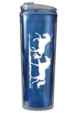 AWST International Water Bottle - Double Walled Plastic, BPA-Free -  20oz.