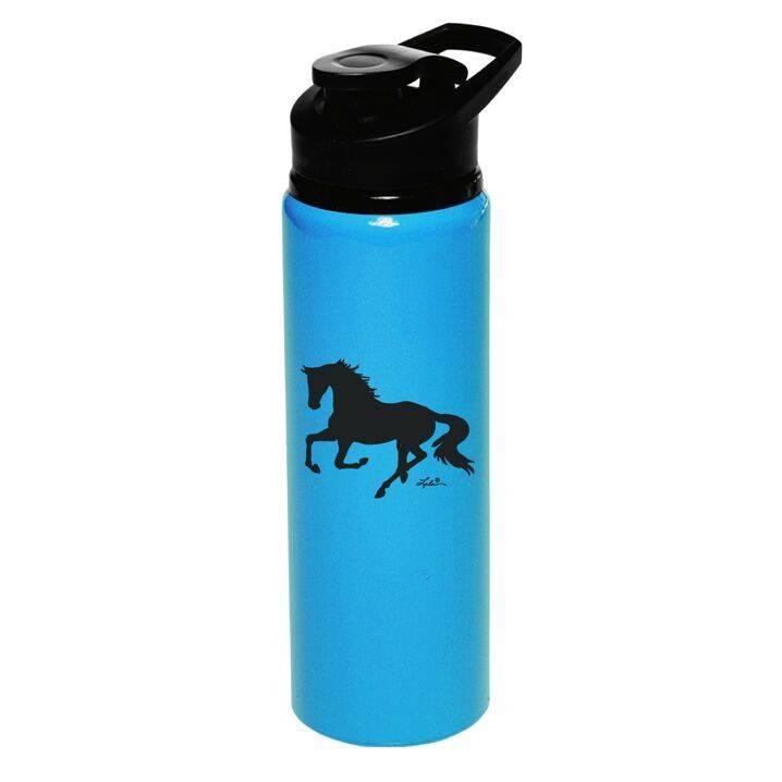 AWST International Water Bottle - Aluminum, Galloping Horse, Sports Bottle - 25oz