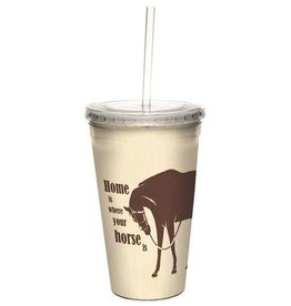 "GT Reid Cups - Home is Where..."" Cool Cup - 16oz"