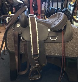 "Wintec Wintec Synthetic Saddle Package - 16"" FQHB"