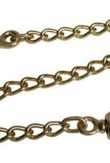 """Tough-1 20"""" Lead Chain Brass"""