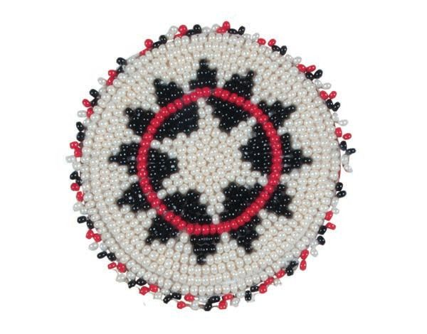 Alamo Saddlery Alamo Beaded Conchos w/ Screw Back