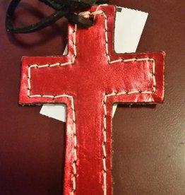 Lamprey Small Leather Cross