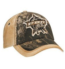 PBR PBR Mossy Oak Distressed Patch Ball Cap