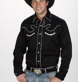 Western Express Men's Retro Western Shirt, Black - Reg $49.95 @ 50% OFF!