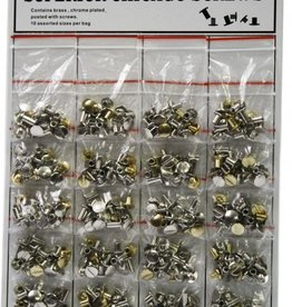 Chicago Screws - 10 Assorted