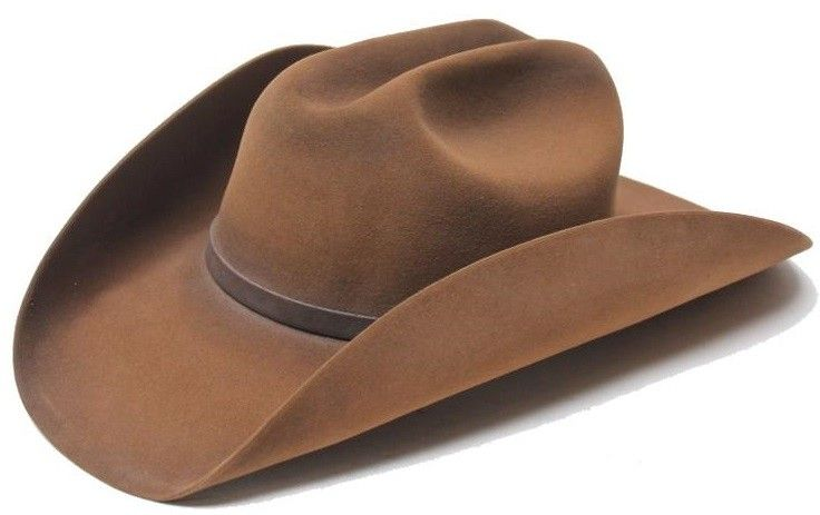 Stetson Stetson Boss of the Plains Western Felt 6x - Weathered Look