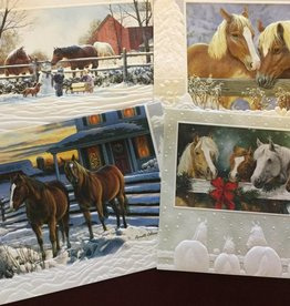 GT Reid Assorted Christmas Cards  4 pack