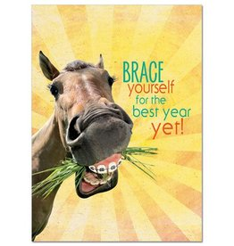 GT Reid Birthday Card - Brace Yourself B-Day Gift