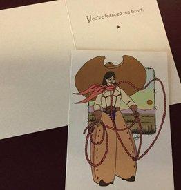 Wyo-Horse Heart Roper Card