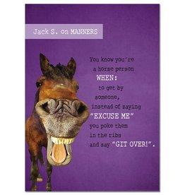 GT Reid Tree Free Greeting Card Purple Jack Gift