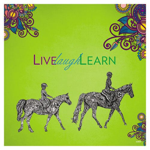 gt reid magnet tree free greetings green square gass horse
