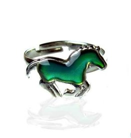 AWST International Ring - Galloping Pony Mood Ring single