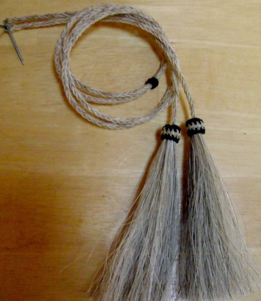 Western Fashion Accessories Stampede Strings, Natural Color, Horse Hair