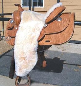 Equine Comfort Products 100% Sheepskin Full Western Seat Cover