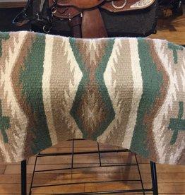 "Mayatex, Inc. Mayatex 34"" x 36""Navajo Saddle Blanket"