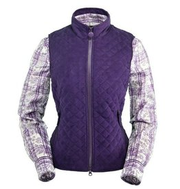 Outback Trading Company LTD Women's Outback Grand Prix Vest  Plum Small