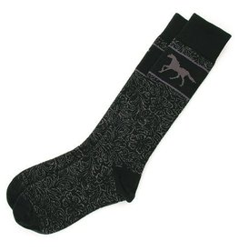 GT Reid Adult's Socks - Tooled Leather