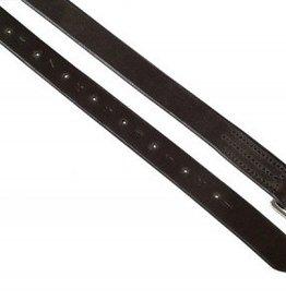 """Smith Worthington Saddlery English Stirrup Leathers, Black - 3/4""""x60"""""""