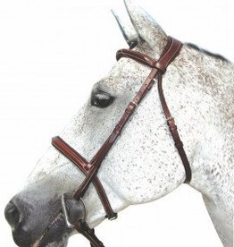 HDR Henri de Rivel Pro Mono Crown Padded Bridle with Laced Reins (Reg $99.95 NOW 40% OFF)