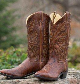 Justin Boots Men's Justin Chestnut Western Boots 11.5 D - Reg $199.95 @ 26.5% OFF!