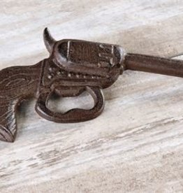 Giftcraft Inc. Cast Iron Gun Wall Mount & Bottle Opener