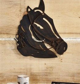 Giftcraft Inc. Metal Horse Head Wall Decor