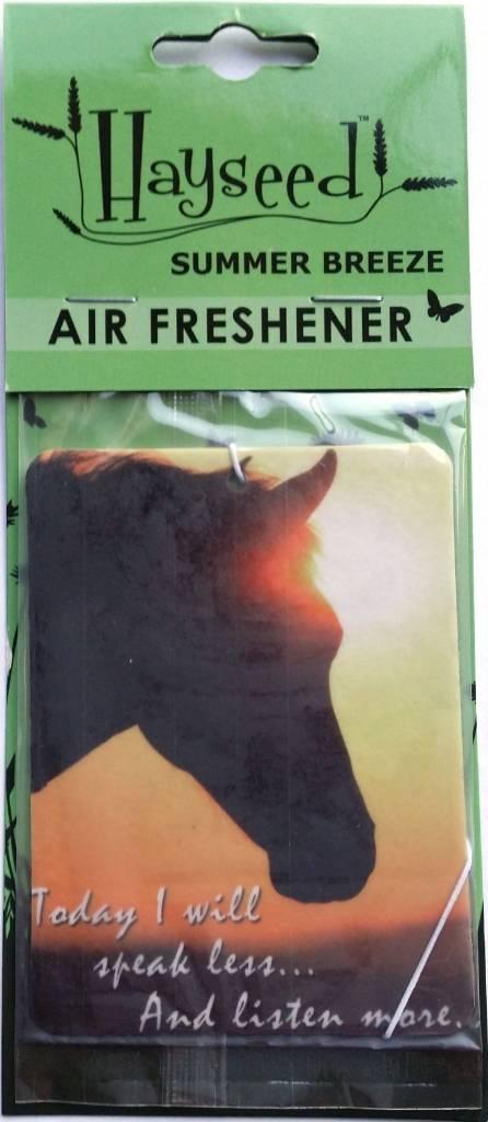 AWST Hayseed Air Fresheners - Bay Horse Design