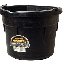 Little Giant Little Giant Flatback Bucket Black - 18 Qt.