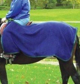 Intrepid International Quarter Fleece Sheet - Navy/Hunter Green