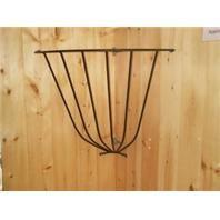 Metal Corner Hay Rack, U.S.A. Made - 40x37x27