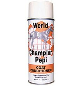 RJ Matthews World Champion Pepi Coat Conditioner, Aerosol - 11.6oz