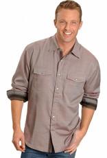 Scully Sportswear, INC Men's Scully Rust Diamond Dobby Snap Front Shirt  XL - Reg $79.95 @ 20% OFF!