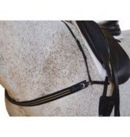 Tough-1 Padded Polo Breast Collar -  Horse