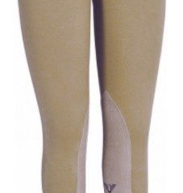 Tuffrider Ladies Starter Lowrise Pull-on Breeches Tan