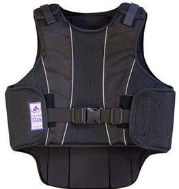 Intrepid International Kids Supra-Flex Body Protector, Safety Vest, Black