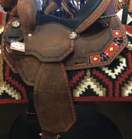 Lamprey Barrel Saddles, FQHB, Beaded Designs