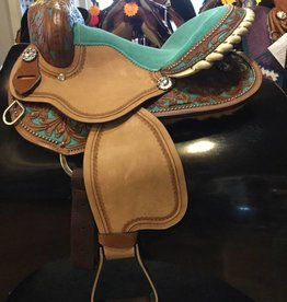 "Lamprey 13"" Youth Barrel Saddle - Pony Bars - Was $450 now $325!!!"