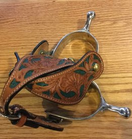 Lamprey Humane Spurs w/ Painted Straps