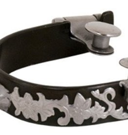 "Partrade Trading Company, LLC Bumper Spurs with Rowels - 3/4"" Band"