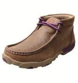 Twisted X, Inc Women's Twisted X Driving Mocs - Purple Trim