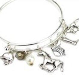 Wyo-Horse Bracelet - English Charm
