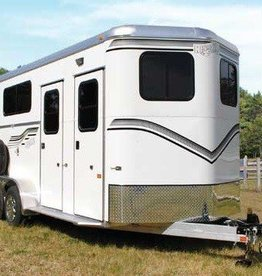 Kingston Trailers Kingston Two Horse Classic Elite with Dressing Room