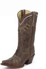 Tony Lama Women's Tony Lama Chocolate Rancho Boots