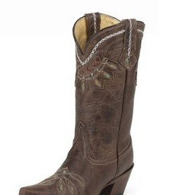 Tony Lama Women's Tony Lama Chocolate Rancho Boots