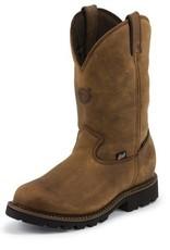 Justin Work Boots Men's Justin Tool Pusher Waterproof Composite Toe Boot - Reg Price $254.95 - $55 OFF!!