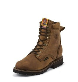 Justin Work Boots Men's Justin Tool Pusher Waterproof Composite Toe - Lace Up - Reg $259.95 @ 23% OFF!