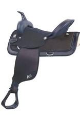 Abetta Abetta® Cordura Hi-Back Saddle, Black, Reg Bars